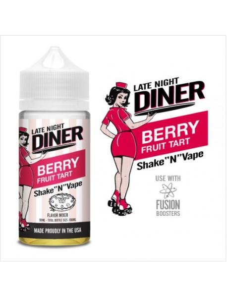 Late Night Diner -  Berry Fruit Tart 50ml