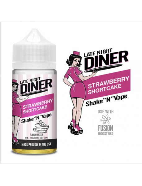 Late Night Diner -  Strawberry Shortcake 50ml
