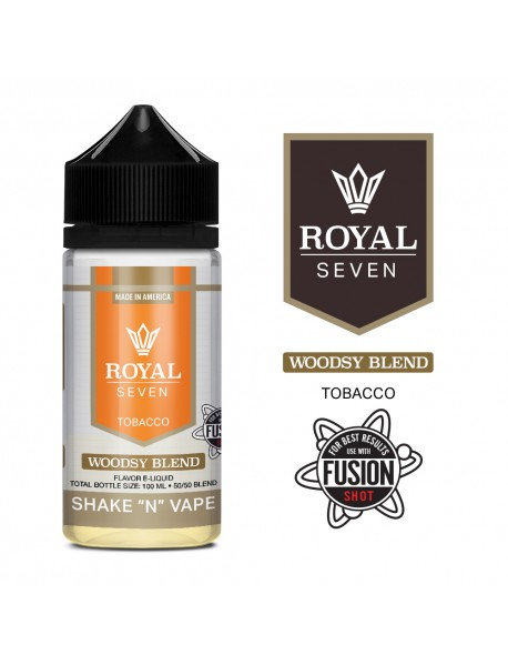 Lichid Royal 7 - Woodsy Blend 50ml