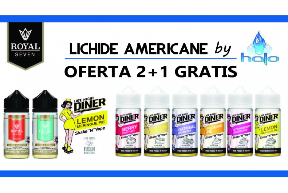 OFERTA 2+1 GRATIS: LATE NIGHT DINER + ROYAL SEVEN