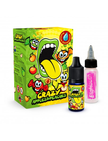 Aroma Crazy Apples and Peaches Big Mouth 10ml