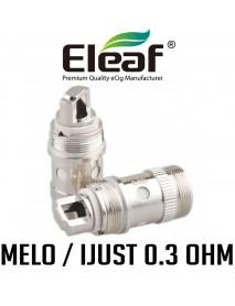 Rezistenta Eleaf EC Melo, iJust 0.3 ohm