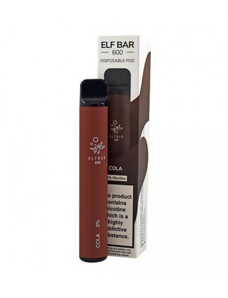 Elf Bar Cola, 600 pufuri, 20mg