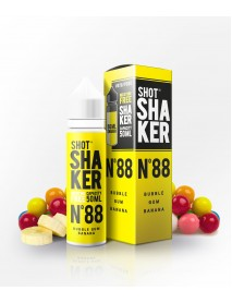 Bubble gum si banana - Lichid Shot Shaker 50ml N.88