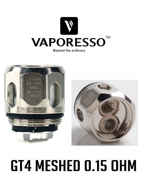 Rezistenta GT4 MESHED 0.15ohm, Vaporesso